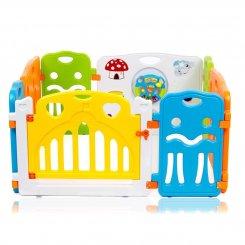 5664-1153 6+2 plastic baby playpen