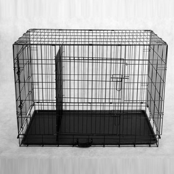 Inch Dog Kennel Double Door With Divider