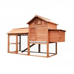 5663-1319 wooden chicken coop