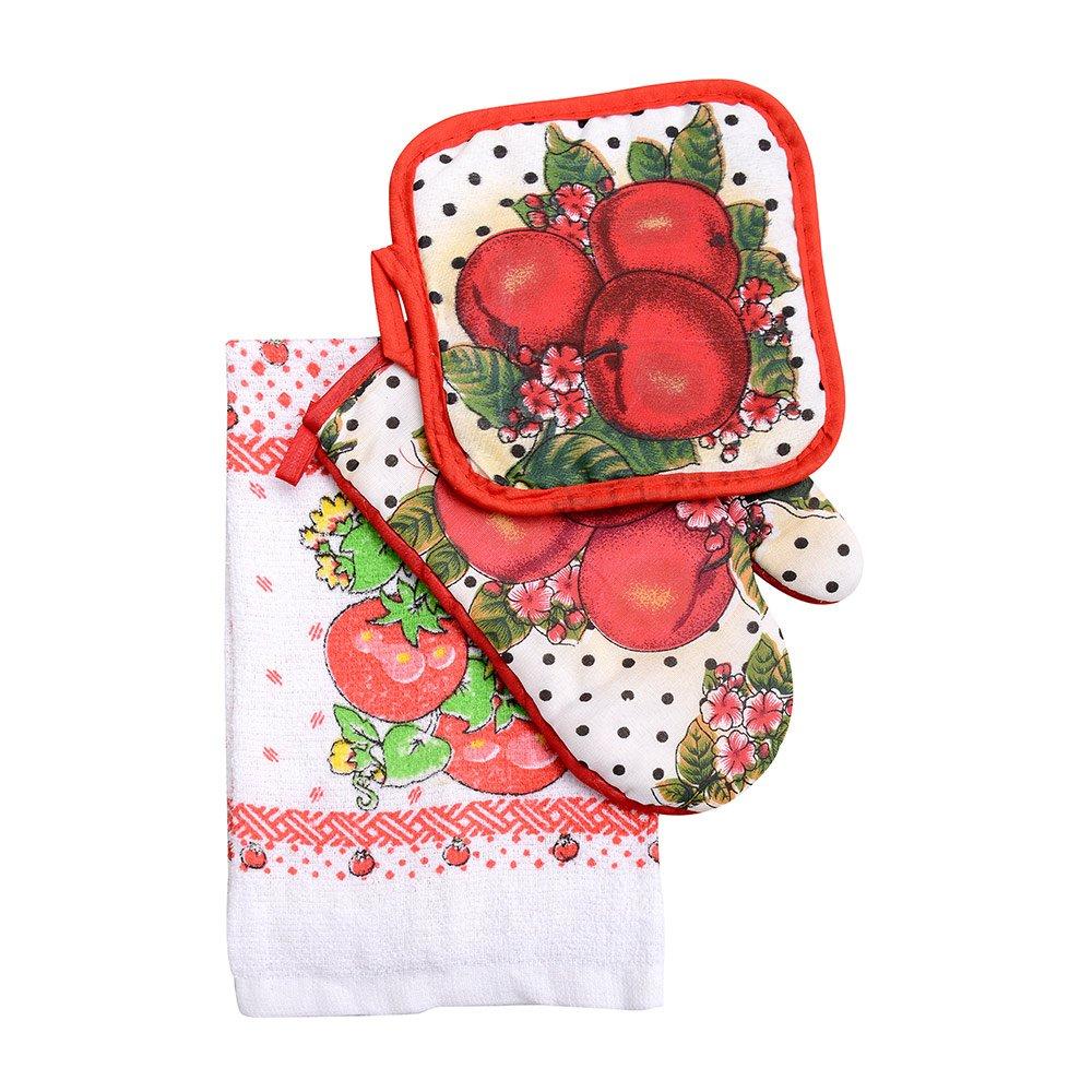 3pcs Home Kitchen Linen Set