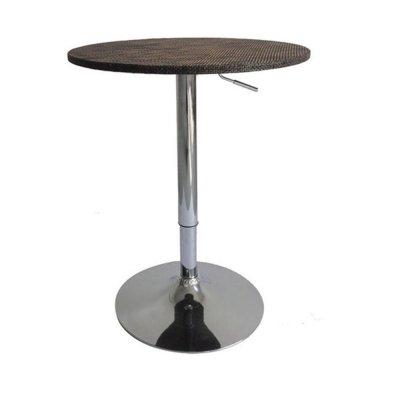 Wicker Bar Table Stand