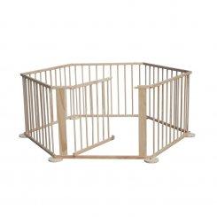 5664-0018 wooden baby playpen