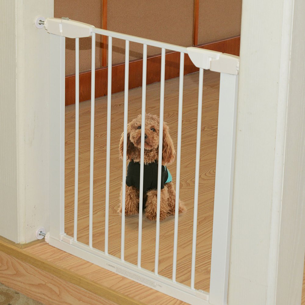 Kids Pet Safety Gate Extending Pressure Fit Stair Room