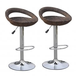 wicker barstools