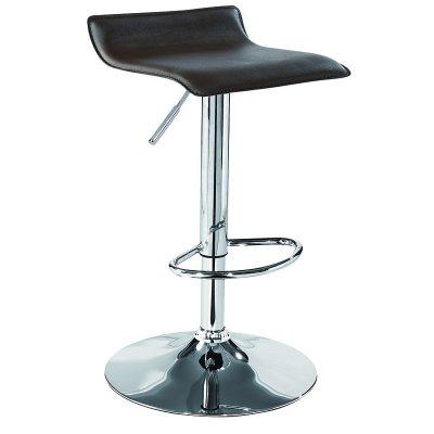 PU backless bar stools