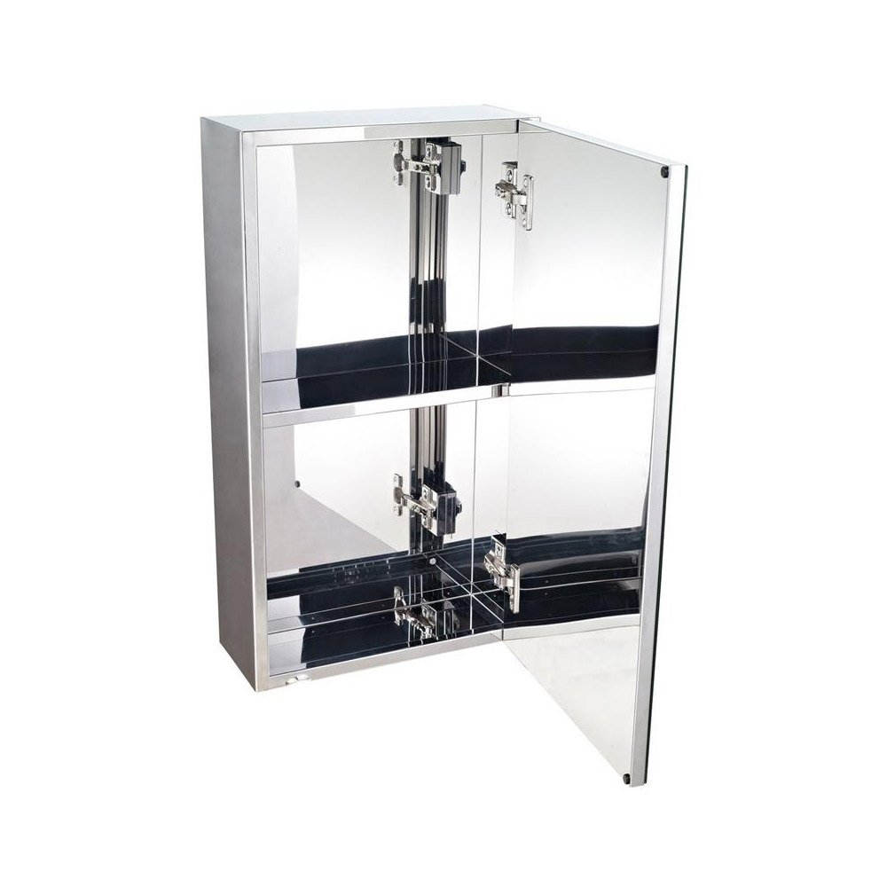 Stainless steel bathroom storage