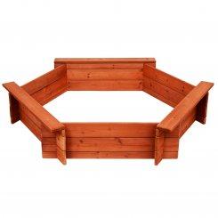 343-001 wooden sandbox