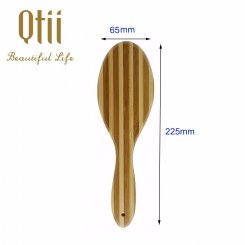 Oval Bamboo Brush with Wooden  9204B-2