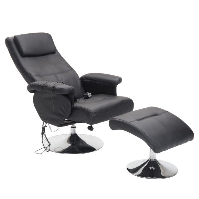 massage sofa with footrest