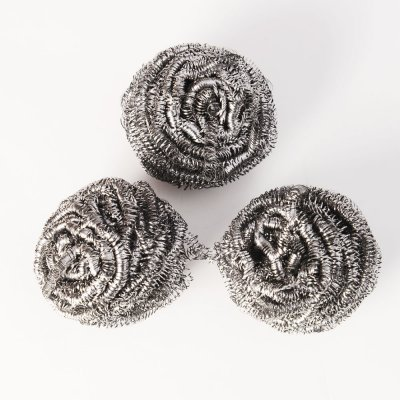 stainless steel kitchen cleaning ball