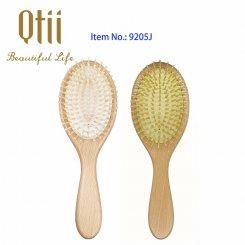 Oval Beech Wood Hair Brush 9205J-1