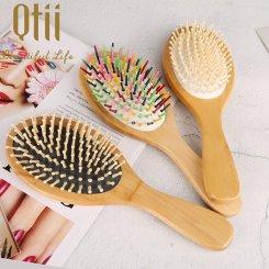 Oval Shape Wooden Hair Brush 9205W-8