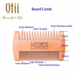 Wooden Beard Comb MB-002-2