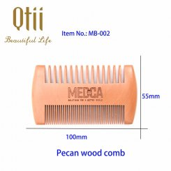 Wooden Beard Comb MB-002-1