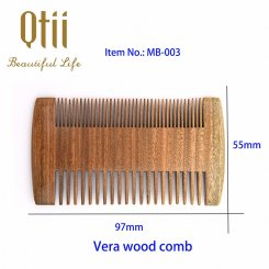 Natural Sandalwood Beard Comb MB-003-1
