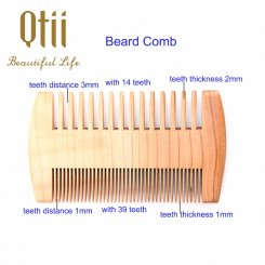 Apricot Wood Beard Comb MB-005-2