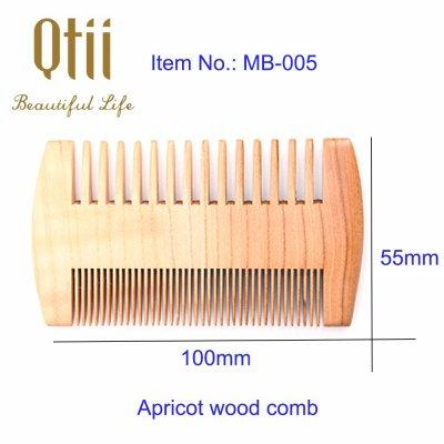 Apricot Wood Beard Comb MB-005-1-