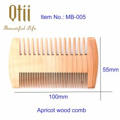 Apricot Wood Beard Comb MB-005-1-