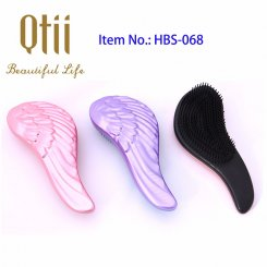 Detangling Brush with Angel's Wing Surface HBS-068