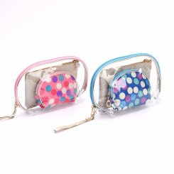 3 pcs Cosmetic Bag set
