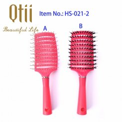 Curved Vented Styling Hair Brush HS-021-2-1