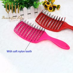Professional Styling Hair Brush with Arched Design Head HBS-051-2