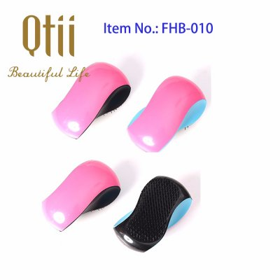 S Shape Detangling Hair Brush for Kids and Adults FHB-010