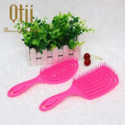 Wet Hair Brush Set with Very Soft Hair Pin HBS-053-2