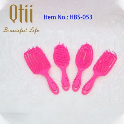Wet Hair Brush Set with Very Soft Hair Pin HBS-053-1