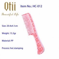 Afford Styling Hair Comb with Printing HC-012