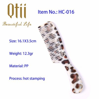Afford Styling Hair Comb with Printing HC-016