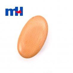 Natural Boar Bristles Wood Brush for Bath, Wet or Dry Brushing, Body Brush for Exfoliation, Cellulite Treatment, 12.57cm-2