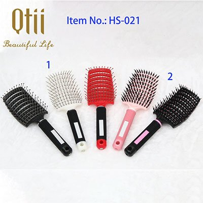Vented Styling Hair Brush with PP Hair